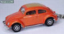 RARE KEY CHAIN RING ORANGE VW OLD BUG BEETLE LLAVERO PORTE CLE БРЕЛОК VOLKSWAGEN