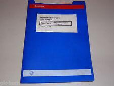 Reparatiebrochure VW Polo Elektrische installatie zelfdiagnose ab 1995