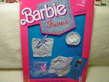 BARBIE JEANS FASHIONS/DRESSED UP DENIM BLUES/1692/NEW 1988