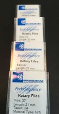 1 Pack Of Brasseler Endosequence Rotary Files 27 Taper 04 21mm