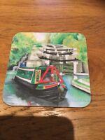 Canal Narrow Boat Coaster ~  Drinks Coaster