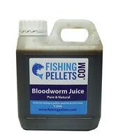Bloodworm Juice 1ltr - Fishing Bait, Carp, Bait Dip, Liquid Bloodworm, Litre