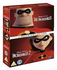 The Incredibles 1 & 2 [Blu-ray Box Set] 2004-2018 Disney Pixar 2-Film Collection