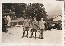 Riva del Garda - Trento - foto militari 1936 caserma esercito cannoni cingolati
