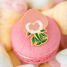 Disney Flower Badge Brooch Pins Enamel_Alice in wonderland
