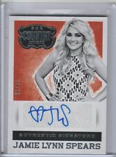 2015 Country Music Signatures Silver #44 Jamie Lynn Spears Auto 03/49