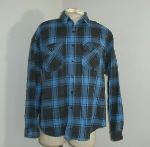 Five Brother Men's Size 2XL 18 Button Up Heavy Flannel Shirt Made In USA