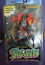 1996 McFarlane Toys Spawn Series 4 Repaint Clown II W/ Orange Weapons