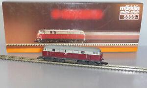 Märklin Z Miniclub 8866; Diesellok V160 003 DB, in OVP /P072