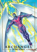ARCHANGEL / 1992 Marvel Masterpieces BASE Trading Card #08 Art by JOE JUSKO