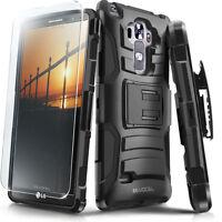 LG G Vista 2 Case, Evocel Rugged Holster w/ Kickstand & Belt Clip + Screen Saver