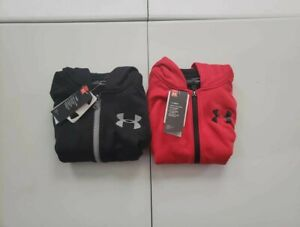 Under Armour Boy's Armour Fleece Full Zip Hoodie NWT!!!