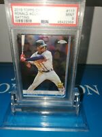PSA 9 MINT ~2019 Topps Chrome Ronald Acuna Jr. All-Star ROOKIE Cup #117⚾️🔥🚀⚾️