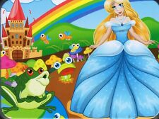 THE FROG PRINCE PRINCESS WOODEN JIGSAW PUZZLE FOR CHILDREN 100 Pcs NUMBERED, NEW