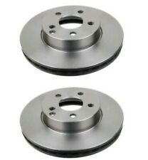 For Mercedes-Benz C & E Class, Pack Of 2 Left&Right Side Vented Front Brake Disc