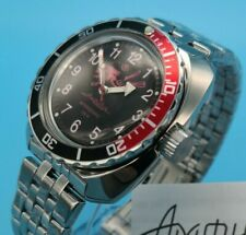 VOSTOK AMPHIBIAN Classic 'Scuba Dude' Automatic Watch with box and paperwork