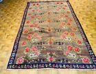 Antique Decorative Turkish floral design camel hair rug-4661