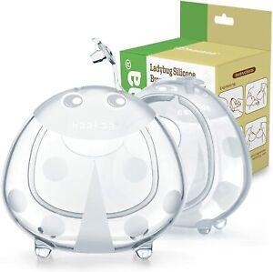 1Haakaa Breast Milk Collector Shells Silicone BPA Free Breastfeed Baby Feed 75ml