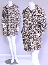 vtg 50s 60s DEADSTOCK rockabilly LEOPARD PRINT psychobilly VLV swing coat jacket