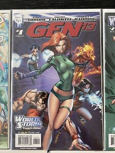 J Scott Campbell LOT VF/NM