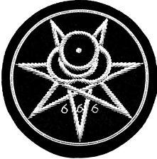 Crowley Secret Seal Thelema Sigil Illuminati Occult Symbol Magic 666 OZ Patch