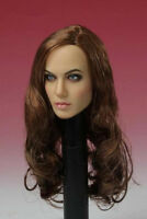 1/6TH Angelina Jolie Female Head Sculpt CGLT-101 Fit 12'' Seamless Body Doll