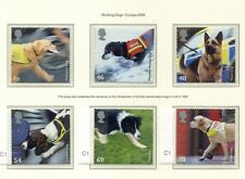 s3303) UK GREAT BRITAIN 2008 MNH** Working dogs 6v