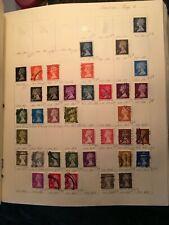 great britain machins #180 to # 231 (several missing, see below)