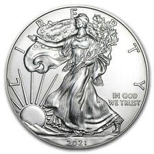 Presale 2021 American Eagle 1 oz Silver Bu .999 Fine Silver Coin