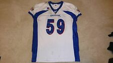 VIRGINIA TECH HOKIES ANTHONY DAVIS GAME WORN 2003 SENIOR BOWL JERSEY #59