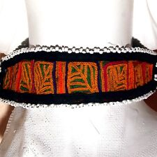 BellyDance ATS Costume Embroidered CHOKER Kuchi Tribe 798g10