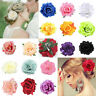Rose Flower Bridal Hair Clip Hairpin Brooch Wedding Bridesmaid Party Accesso Sw