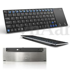 Rii mini i12 Ultra Slim Multimedia 2.4GHz Wireless Keyboard with Touchpad Laptop