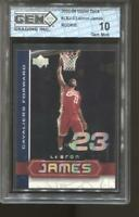 2003-04 Lebron James Upper Deck UD Superstars #2 Gem Mint 10 RC LA Lakers