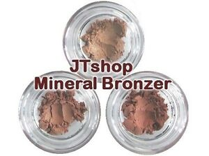 JTshop Superior Mineral Bronzer - 3 Colour Choices (0.3g-4g) All Natural