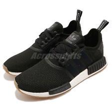 Adidas Originales NMD_R1 Boost Negro Blanco Zapatos Informales Correr De Goma Para hombres B42200