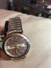 Vintage Zodiac Senator SST 36000 Automatic Oval Wristwatch—— Runs