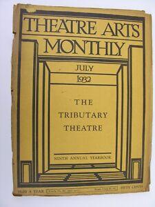 THEATRE ARTS MONTHLY July 1932 Julia Peterkin Little Theatres Montreal Repertory