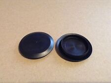 "100 x 1 1/2"" 1.5 Inch Flush Mount Black Plastic Body and Sheet Metal Hole Plugs"