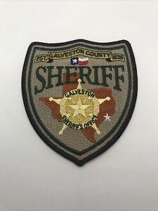 Galveston County Texas Sheriffs Office Shoulder Patch