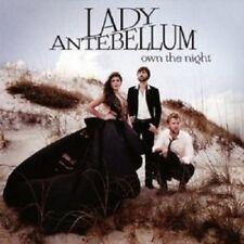 "LADY ANTEBELLUM ""OWN THE NIGHT"" CD  NEW+"