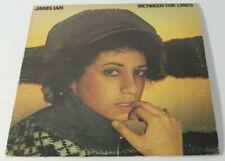 Janis Ian Between The Lines 1975 LP Original Album CBS Pressing PC 33394 VG+