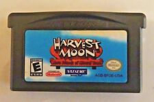 AUTH. HARVEST MOON More Friends Of Mineral Town Nintendo Game Boy Advance