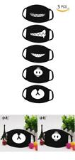 5pcs Ayo and Teo Exo Anti Dust Anime Face Mask Cotton Cut Exo Bear Pig Teeth Set