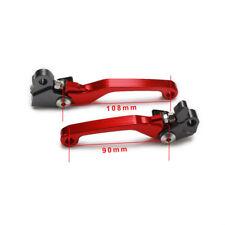 CNC Brake Clutch Levers For Honda CR125R CR250R CRF250R CRF450R CRF250X CRF450X