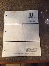 Case INGERSOLL Hydraulic PTO Model HP32, HP42 Operator's Manual 8-57950