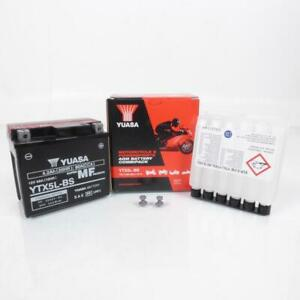 Batteria Yuasa Per Moto Yamaha 250 Wr-F 4T 2001 Per 2007 YTX5L-BS/12V 4Ah Nuovo