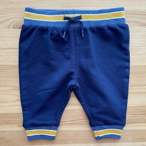 NWOT JANIE AND JACK Blue Lounge Pants Size 0-3 Months
