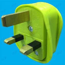 Materiales eléctricos de bricolaje enchufe color principal verde