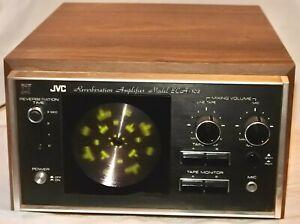 Vintage JVC Reverberation Amp Reverb Amplifier ECA-102 AS IS